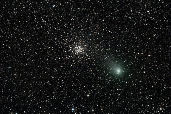 Garado kometa rugpjūčio pabaigoje praskriejo pro išraiškingą