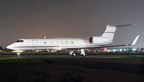 Lėktuvas Gulfstream V privatejetsforsale.biz nuotr.