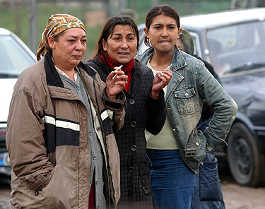 Čigonai, romai, taboras