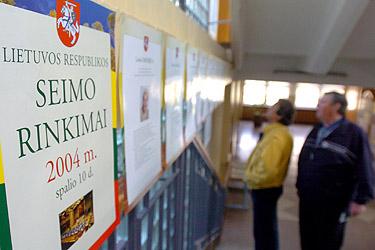 Seimo rinkimai, balsavimas, balsuojama
