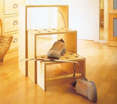 Sudedama taburetė - kopėtėlės