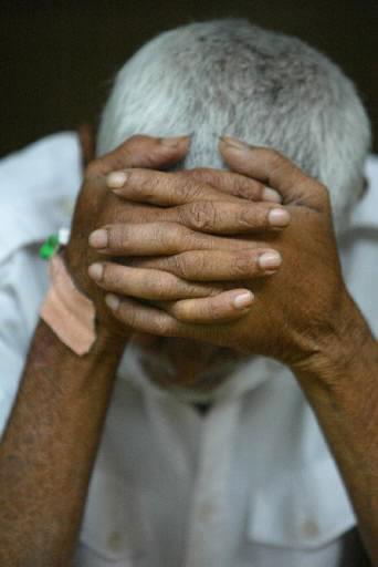 Šri Lankos gyventojas gedi žuvusiųjų