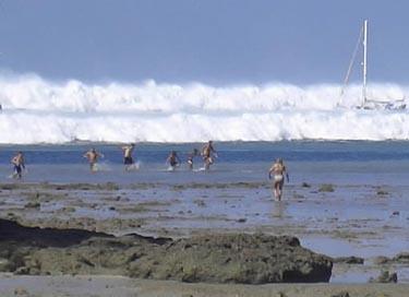 Pirmoji cunamio banga