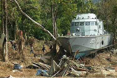 Po cunamio Pietryčių Azijoje