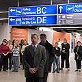 Trys tylos minutės cunamio aukoms pagebti tarptautiniame Frankfurto oro uoste