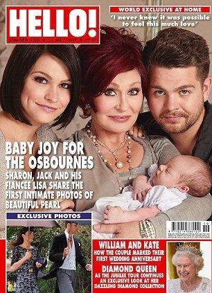Osbourne`ų šeima ant žurnalo viršelio