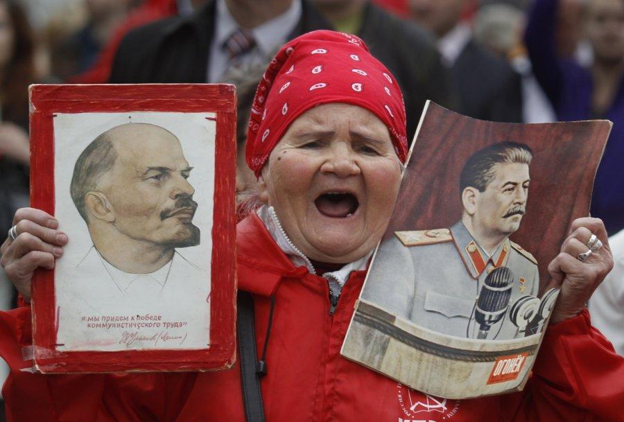 Для Сталина советские люди были скотом бессловесным. За это нынешний скот его и