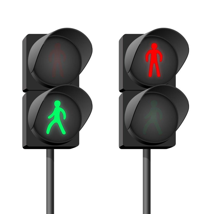 Пешеходный светофор картинка на прозрачном фоне