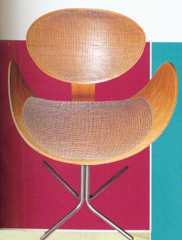 "Krėslas ""Wire"". Kaja Gjadebo. Young Nordic design."