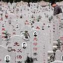 Kinas lanko giminaičių kapus