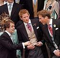 Tomas Parkeris Bowlesas, Princai Harry ir Williamas