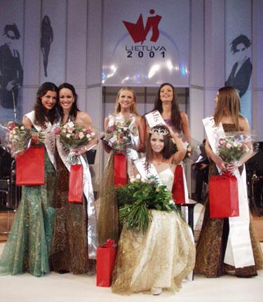 Mis Lietuva 2001 finalas