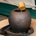 Tarptautinė bonsai ir suiseki paroda Alytus 2005. Arbatos ceremonija