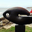 Naujosios Zelandijos skulptoriaus Paulo Dibble bronzos skulptūra