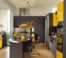 Virtuvė: šiuolaikškas stilius