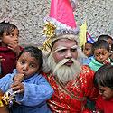 Indijos našlaičiai Kalkutoje