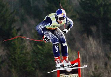 JAV slidininkas Daron Rahlves