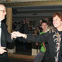 Arūnas Žebriūnas su žmona