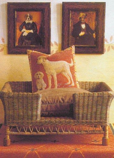 Pintas krėslas šuniui
