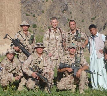 Arvydas Pocius ir Lietuvos kariai Afganistane
