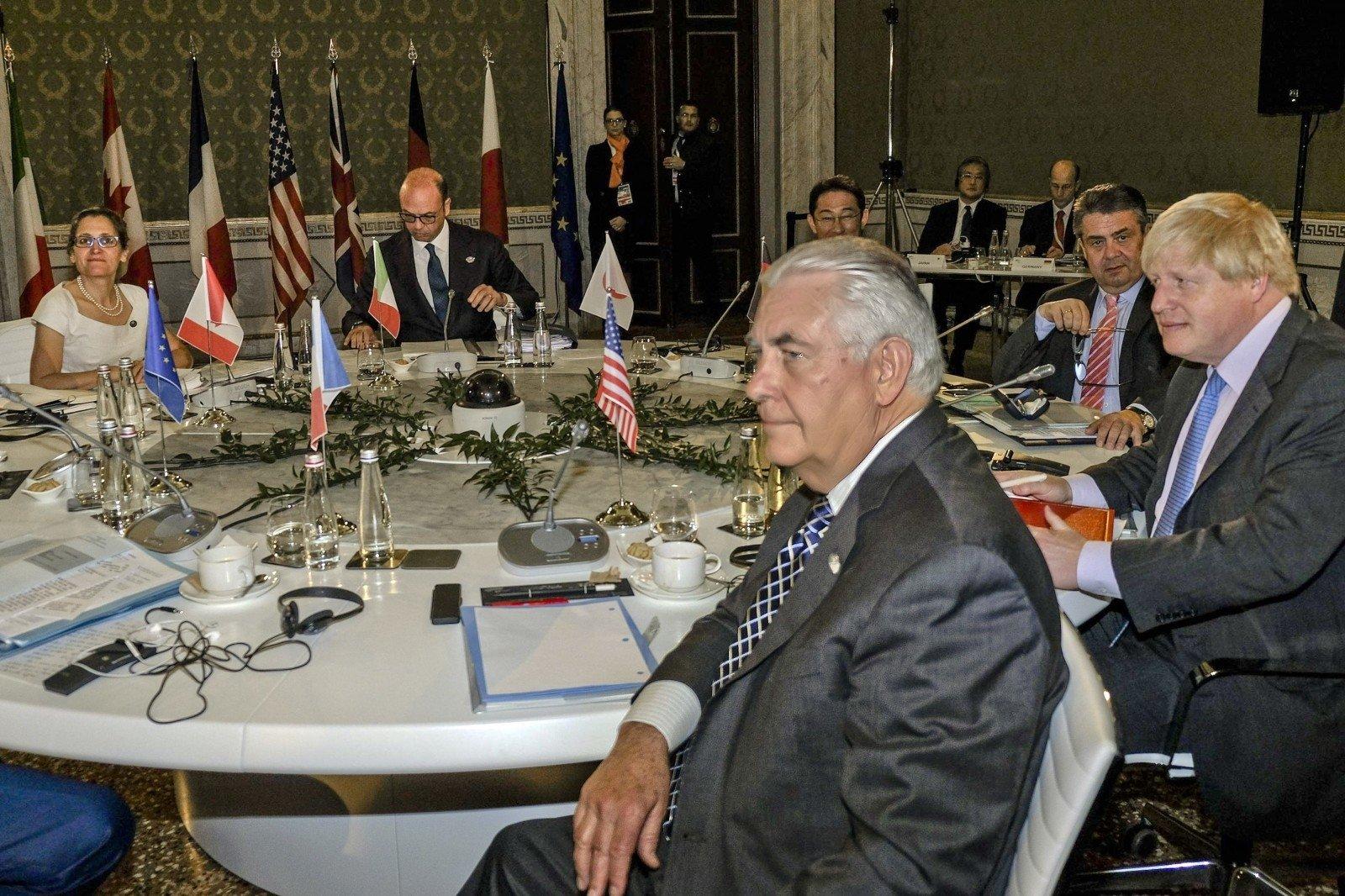 Члены G7 непришли кединому мнению вотношении санкций против Российской Федерации