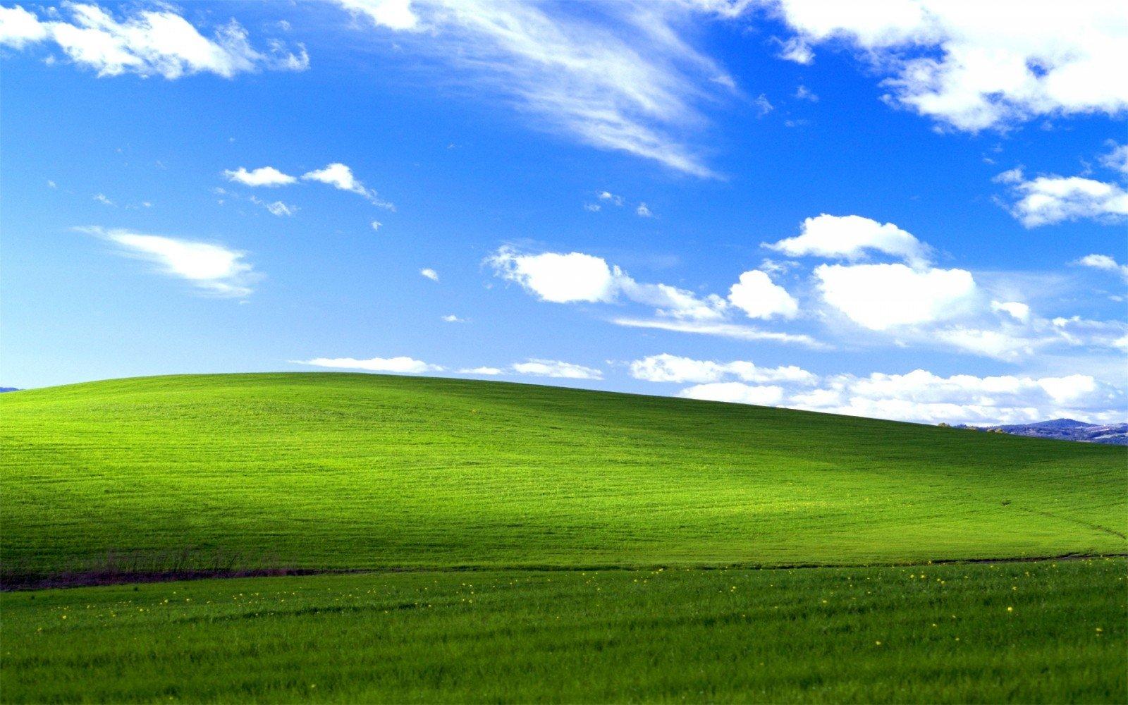 Geriausiai inomas Windows peizaas turi labai domi atsiradimo