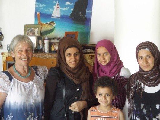 Graikė Rula savo namuose priėmė 16 pabėgėlių (E. Labanausko nuotr.)