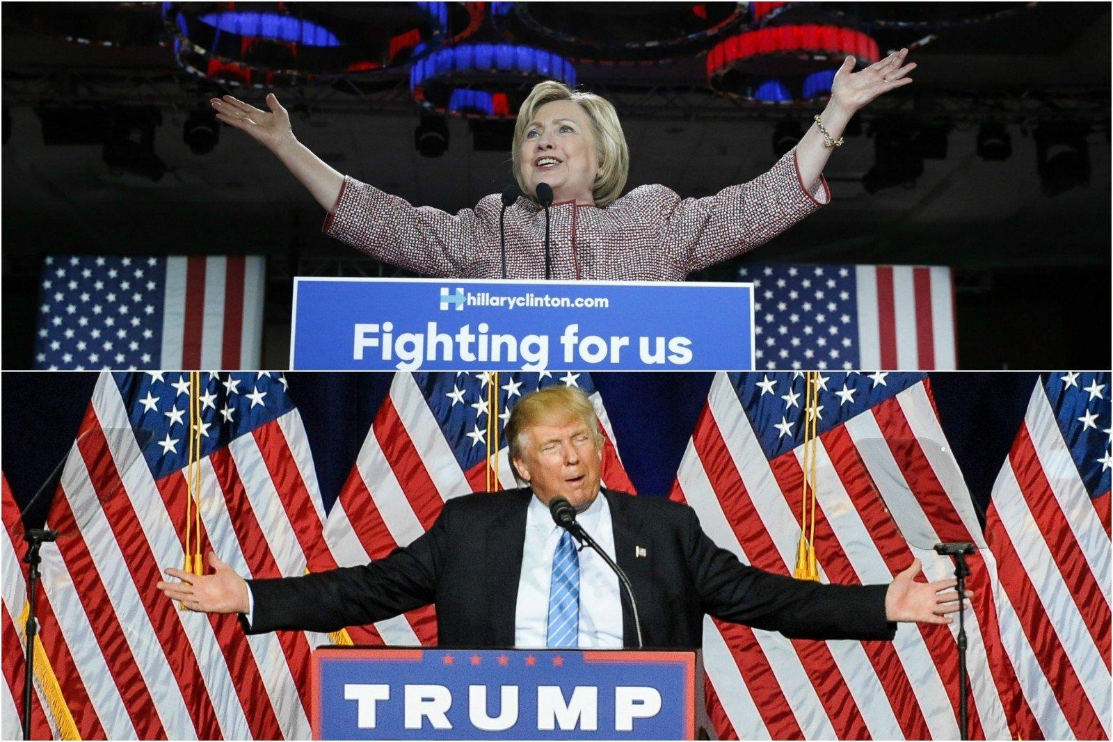 Опрос: Трамп обошел Клинтон впрезидентской гонке