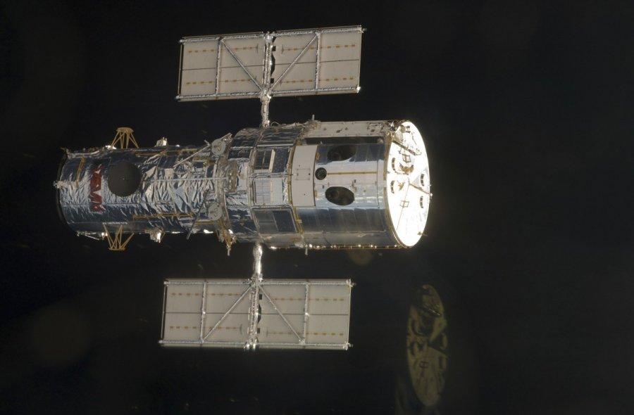 NASA показало фото разорванной галактики