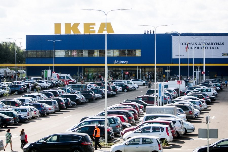 за товар Ikea в литве платят вдвое дороже чем в польше Rudelfi