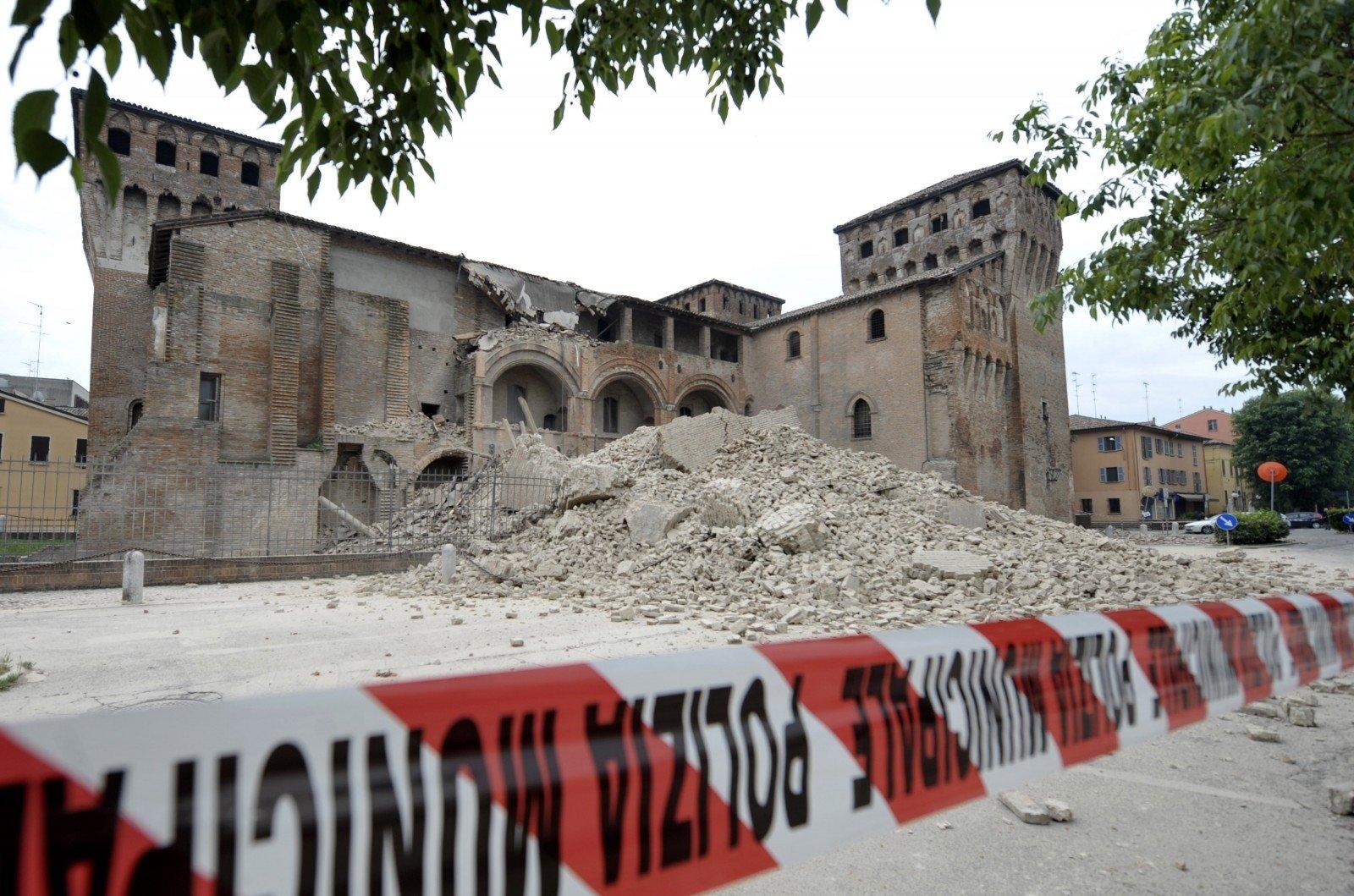 Землетрясение уничтожило город вцентре Италии