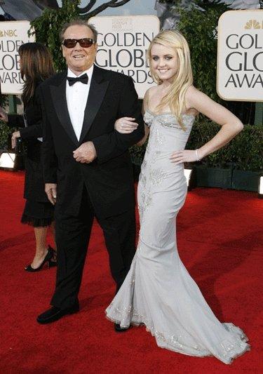 Jackas Nicholsonas su dukra Lorraine