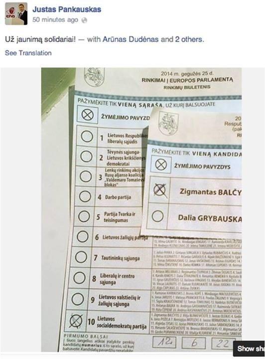 Ką prie balsadėžių pastebėjo skaitytojai?