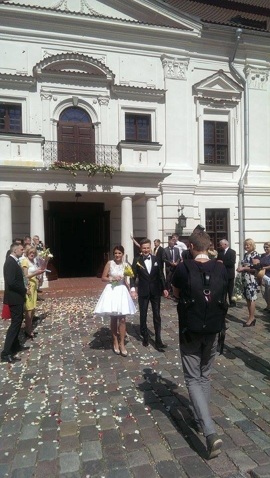 Karolio Šliažo ir  Jekaterinos Magomedovos vestuvės