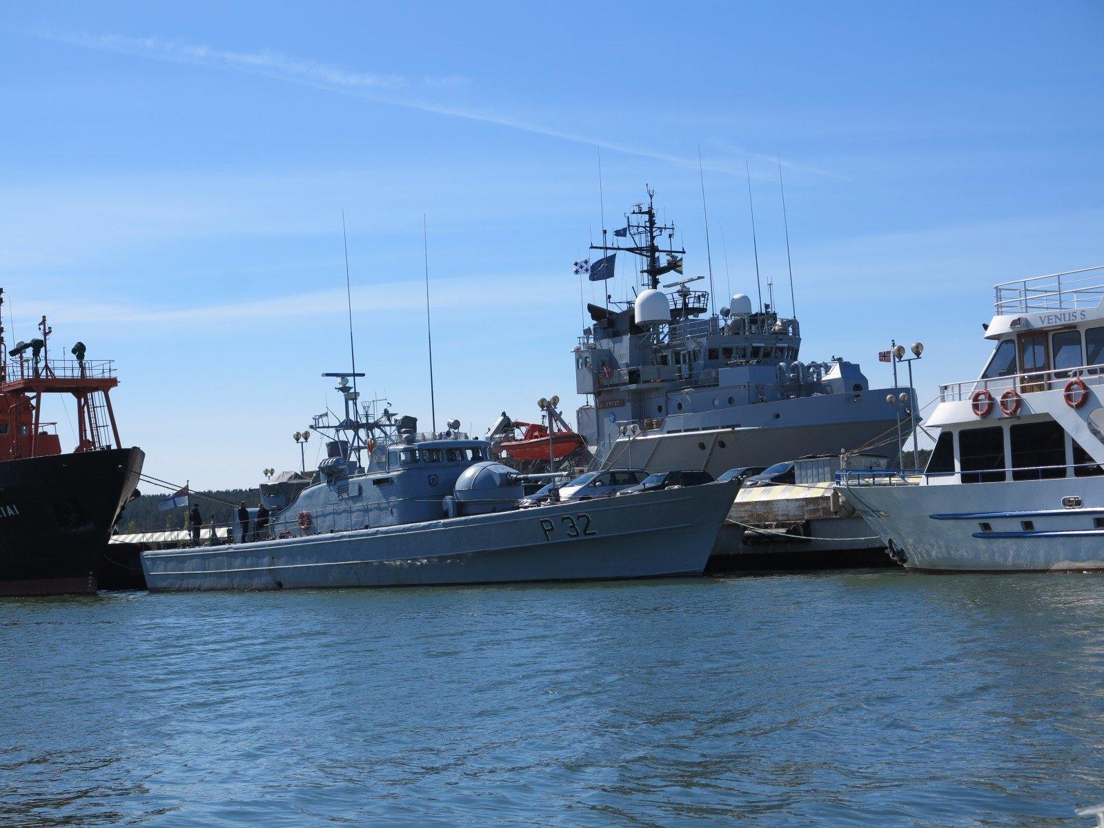 ВКлайпеду войдет минно-тральная эскадра НАТО