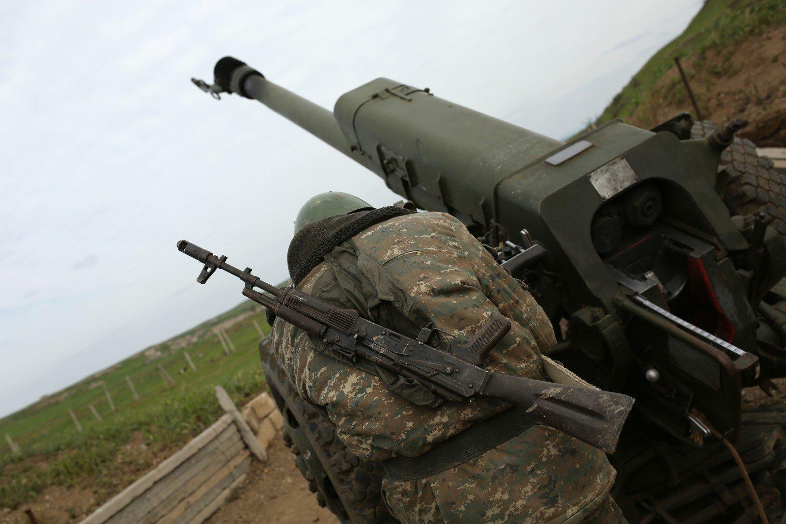 Боевые действия вНагорном Карабахе приостановлены
