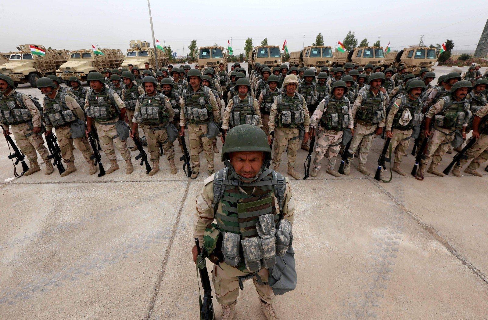 Курды начали наступление наИГ насевере Ирака