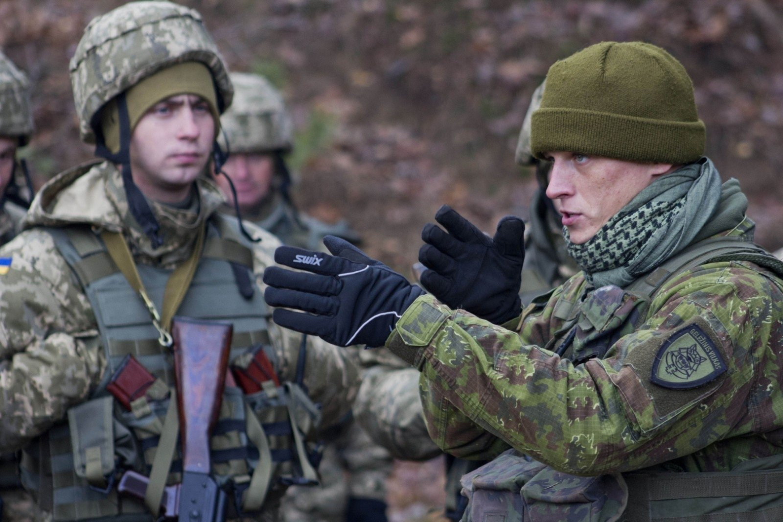 Литовские военные высадились вгосударстве Украина