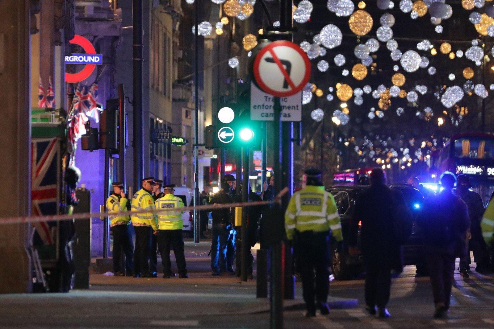 Стрельбы встолице Англии небыло, однако человек пострадал— Ложная тревога