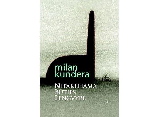 M. Kunderos knygos viršelis