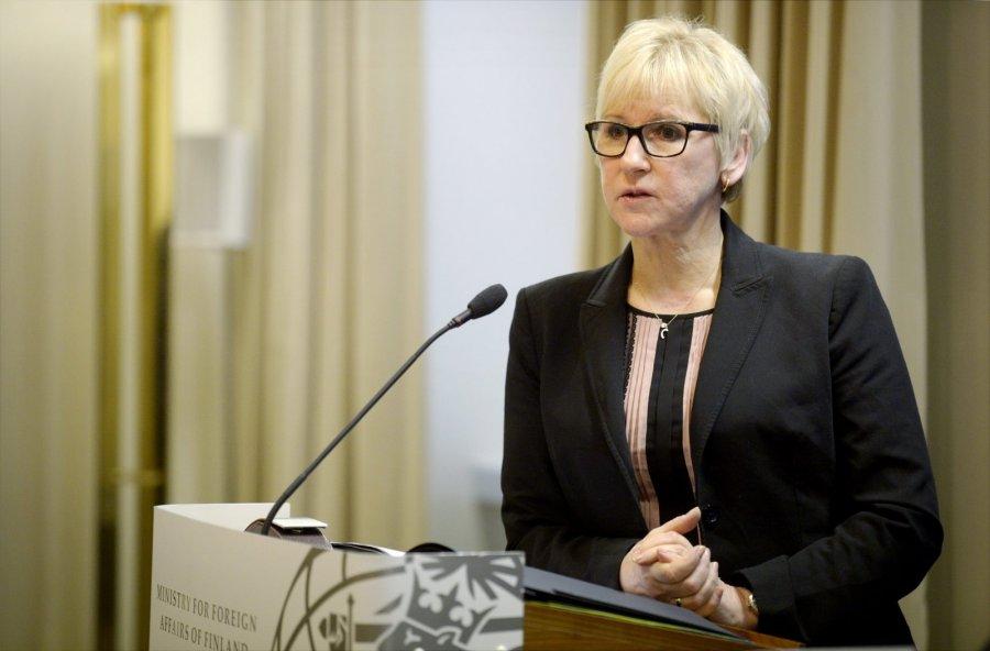 Швеция выступает завведение санкций против России из-за Сирии