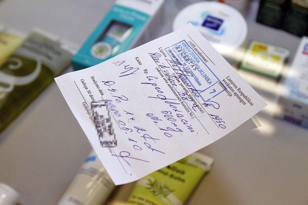vaistų receptai nuo hipertenzijos)