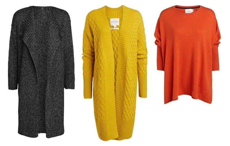 Ilgi megztiniai moterims