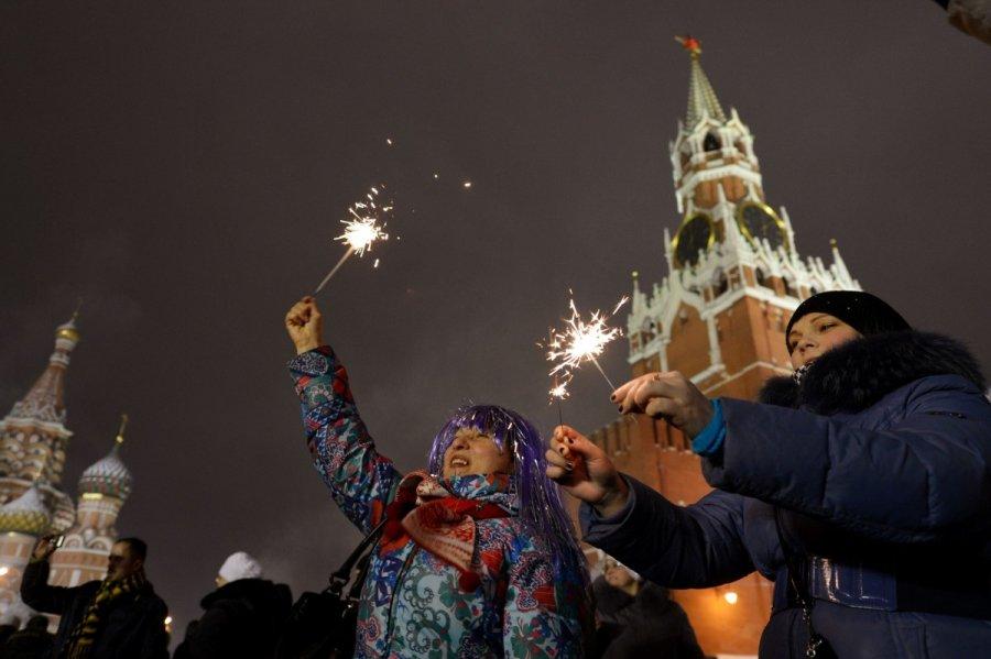 Куда еду россияне на новый год