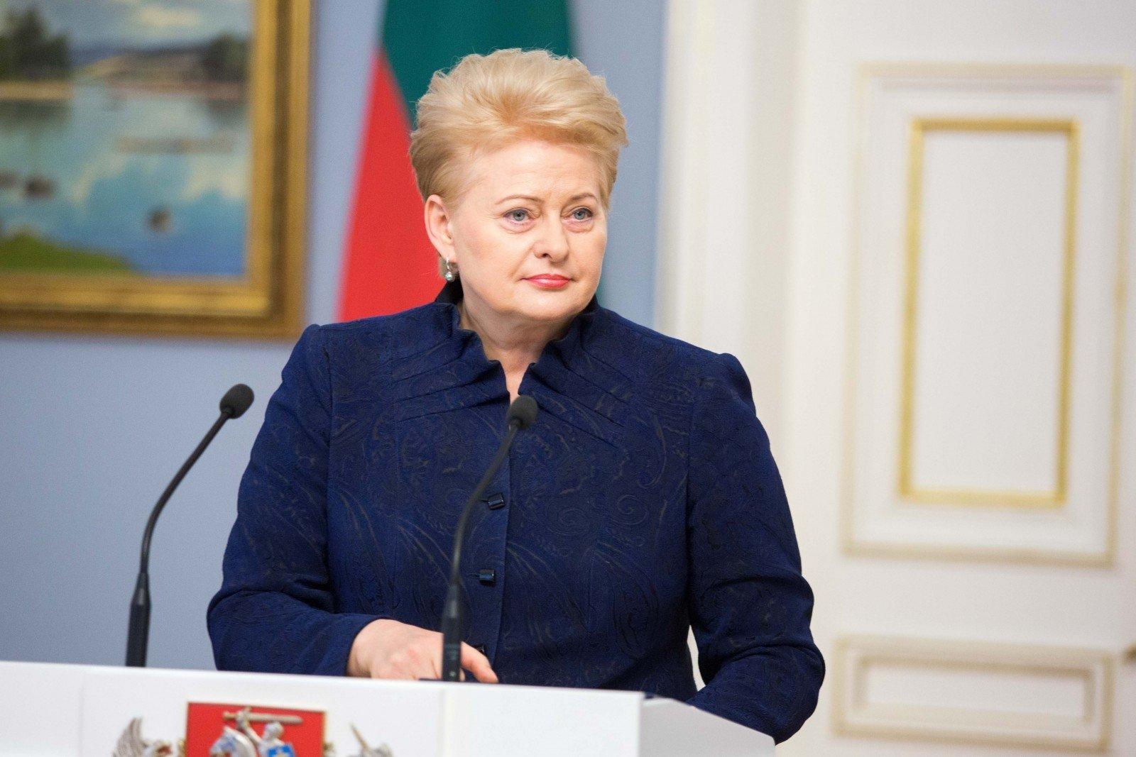 РФдемонстрирует агрессию вотношении евростолиц— Президент Литвы