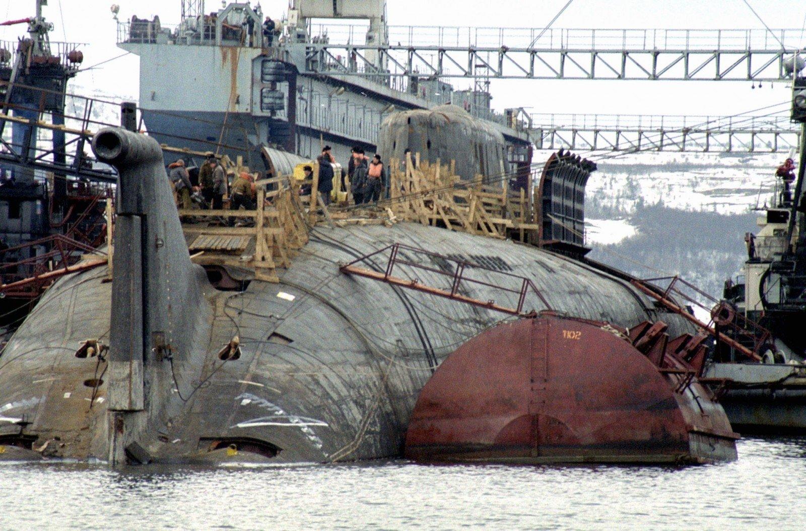 фото подводной лодки курск после подъема это настоящий аттракцион
