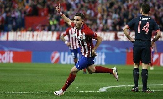 'Атлетико одолел'Баварию в первом матче 1/2 финала Лиги чемпионов