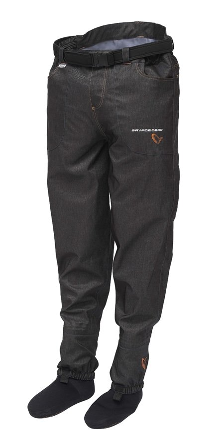 "#Savage ""Savage denim waist waders (stocking foot)"""