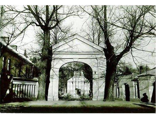 senosios liuteronų kapinės