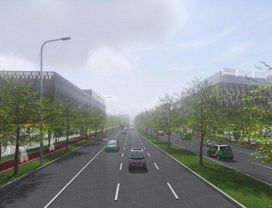 Šiaurinės gatvės planas
